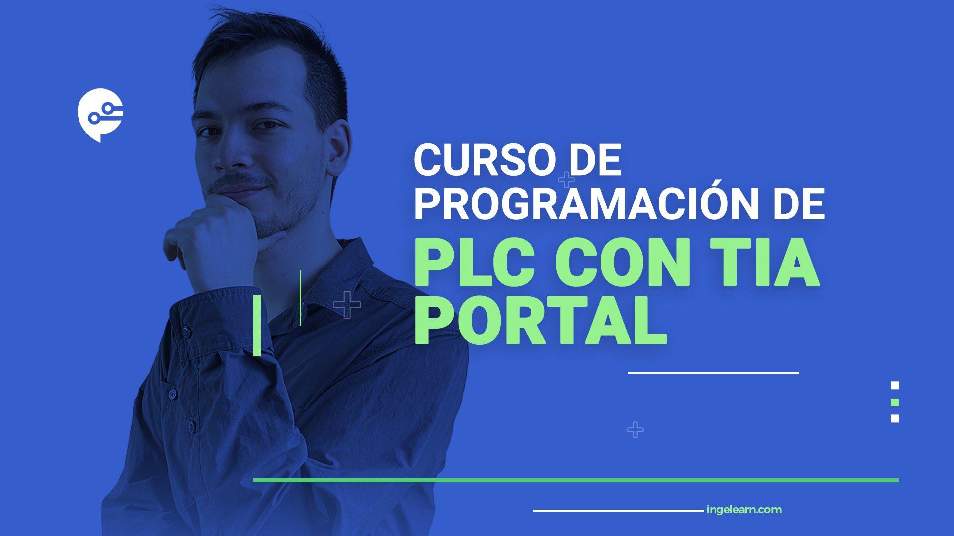 Portada de curso PLC TIA PORTAL